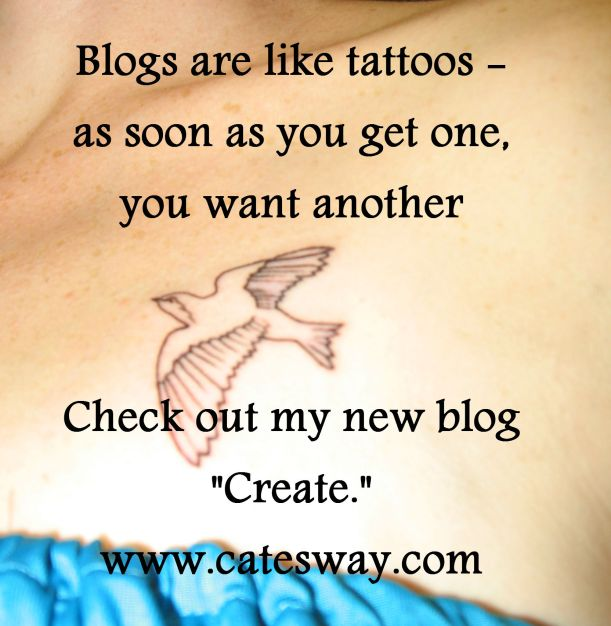"Cate's Way blog, ""Creating, Cate's Way (note the address change)"